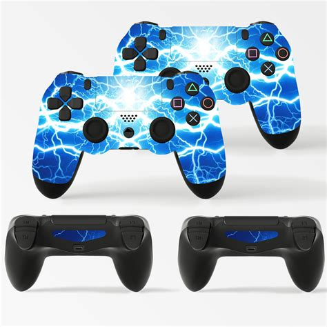 Ps4 Controller With Stickers by 2 X Playstation 4 Ps4 Controller Skins Full Wrap Vinyl