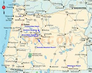 map of western oregon oregon cowboy horseback about us directions