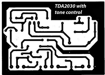 Kit Tone Stereo Well 007s simple tone circuit diagram tda2030 electronic