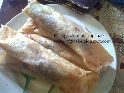 ncc jajan tradisional indonesia week pisang cokelat