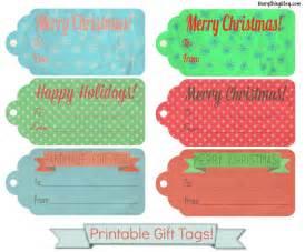 Tinker tinker craft 20 christmas gift tags free printables