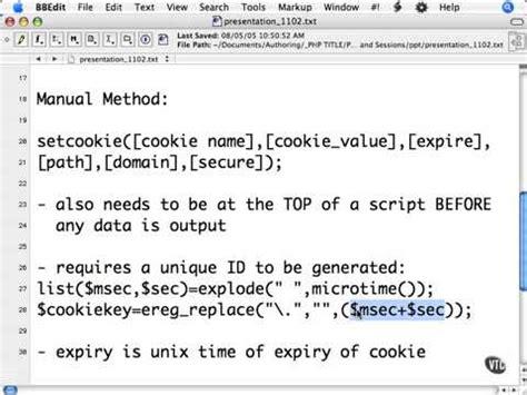 php tutorial kudvenkat setcookie videolike