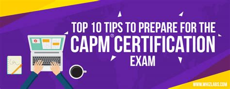 10 Top Tips On Getting Ready For Exams by Top 10 Tips To Prepare For The Capm Certification