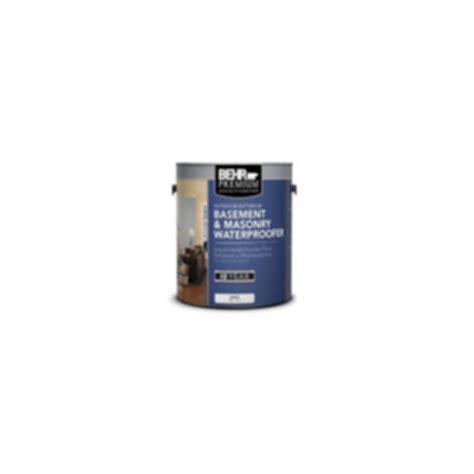Behr Premium 174 Basement Masonry Waterproofer Modlar Com Behr Basement And Masonry Waterproofing Paint