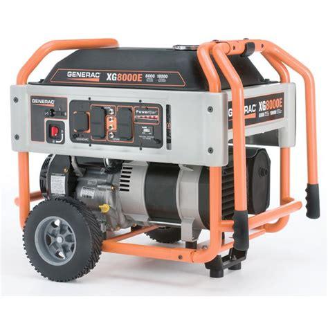 generac 5747 xg8000e 8 000 watt 410cc ohvi gas