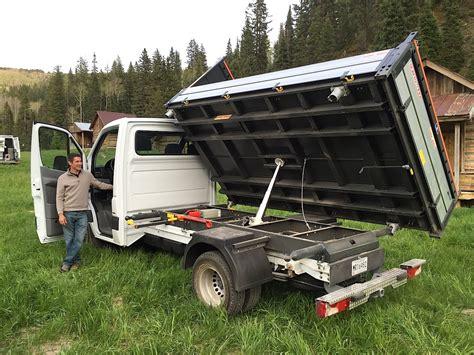 garbage truck bed 2015 mercedes benz sprinter 3500 dump truck everything