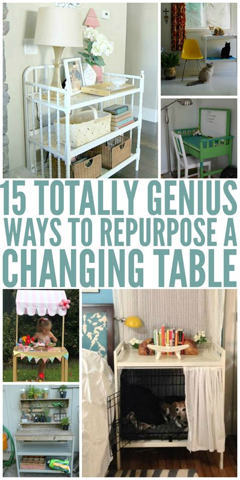 15 Genius Ways To Repurpose Changing Tables Repurpose Repurpose Changing Table