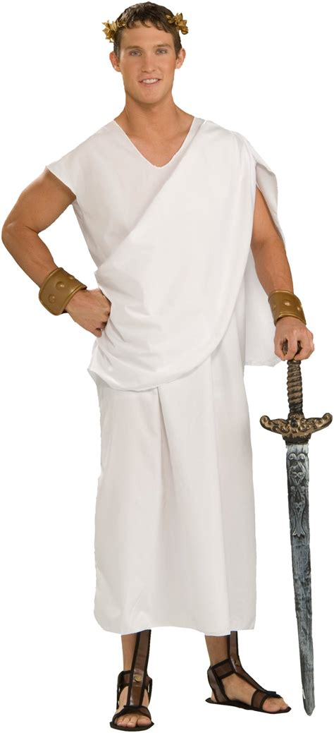 deluxe classic toga male adult costume toga costume