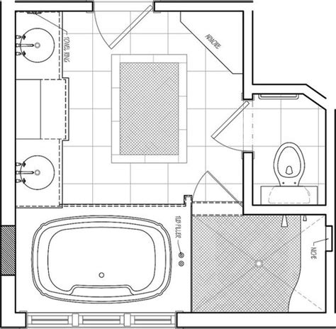 Ada Badezimmerdesign by Interior Master Bathroom Floor Plans Industrial Light