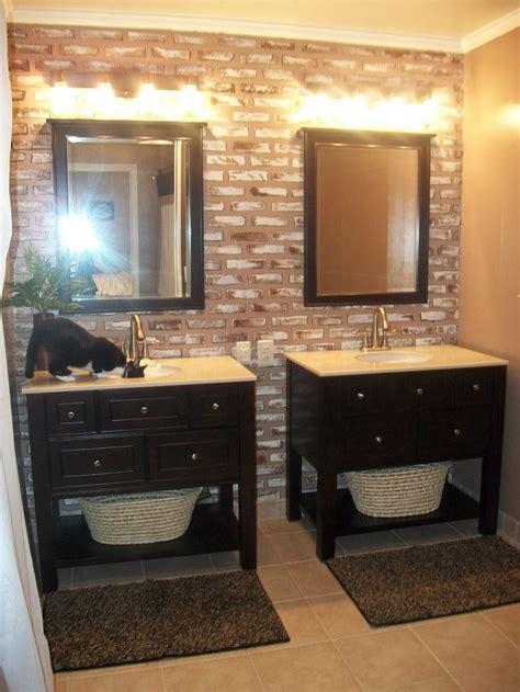 vanities side  side bathroom ideas pinterest