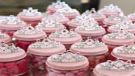 princess baby shower centerpieces ideas