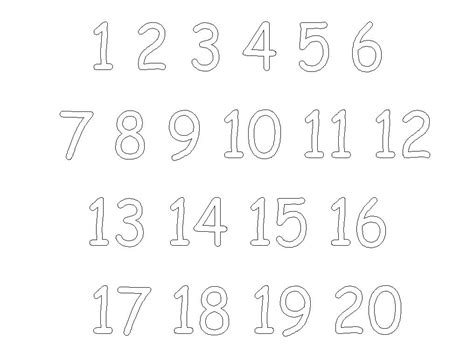 printable chinese numbers 1 20 number chart 1 20 large lesupercoin printables worksheets
