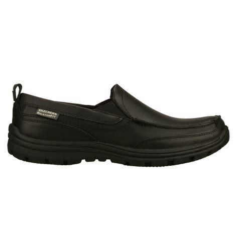 slip resistant work shoes for skechers hobbes mens slip resistant work shoes black