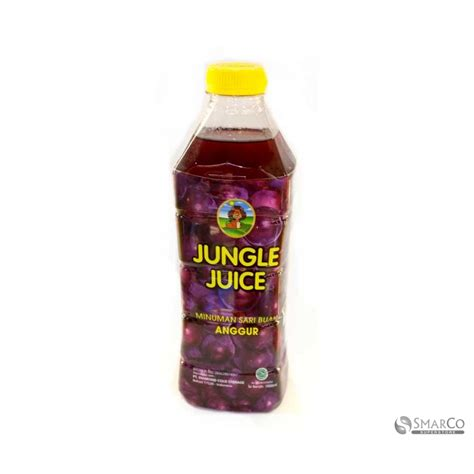 Jd Id Jungle Juice Grape 500 Ml detil produk jungle juice grape 1 lt 1017090020013