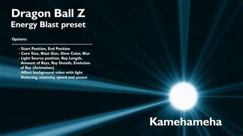 tutorial after effect energy ball after effects preset dragon ball z energy blast free