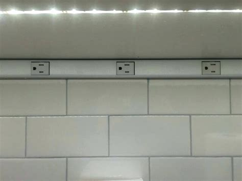 cabinet lighting with integrated outlets cabinet lights with outlets lighting with built in