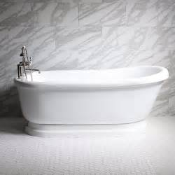 Pedestal Tub With Jets Empress Empd73n 73 Quot Hydromassage Water And Air Jetted