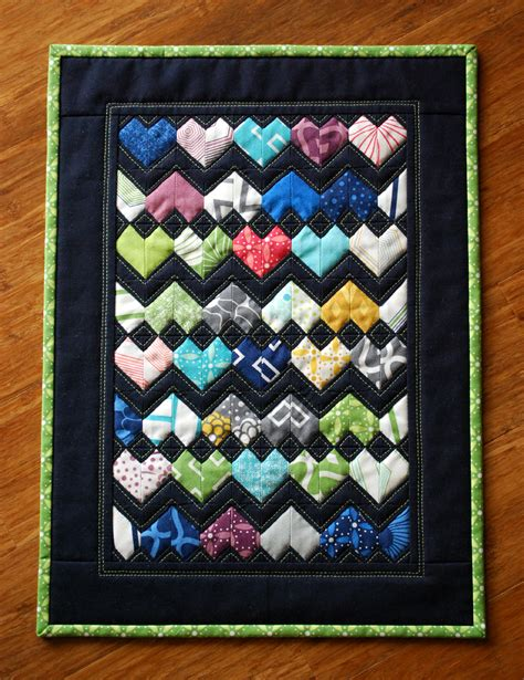 zig zag heart quilt pattern hope s quilt designs zigzag love in miniature