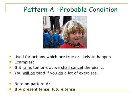 pattern conditional sentences conditional sentences