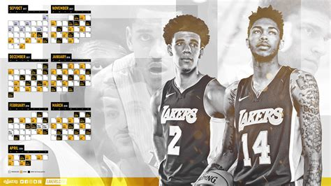 Lakers Giveaway Schedule - lakers wallpapers and infographics los angeles lakers