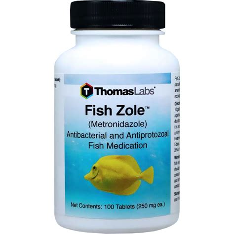 fish zole metronidazole mg  tablets healthypets