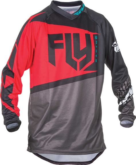 motorcycle racing gear 2017 fly racing f 16 jersey mx atv motocross off road