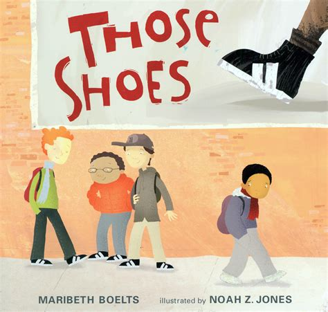 those shoes maribeth boelts there s a book for that