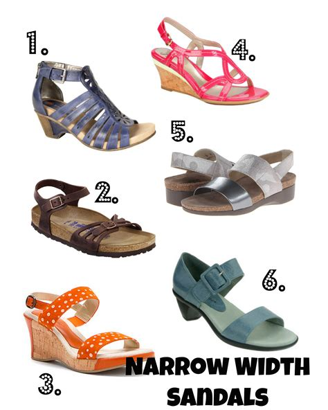 narrow width shoes for comfortable narrow width sandals with style reader request