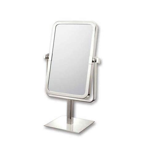 Polished Nickel Vanity Mirror by Mirror Image Brushed Nickel Rectangle Vanity Mirror Aptations Vanity Mirrors Mirrors Home