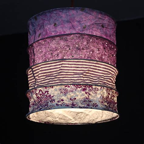 Handmade Light Shades - handmade paper lshade by discover attic