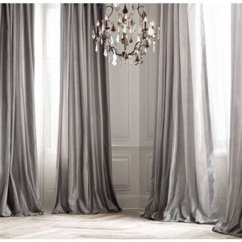 silver silk curtains 25 best ideas about silk curtains on pinterest pink