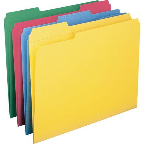 colored folders smead colored folders with reinforced tab office