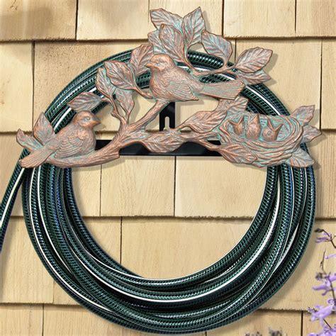 decorative hose holder decorative hose holder chickadee in garden hose storage