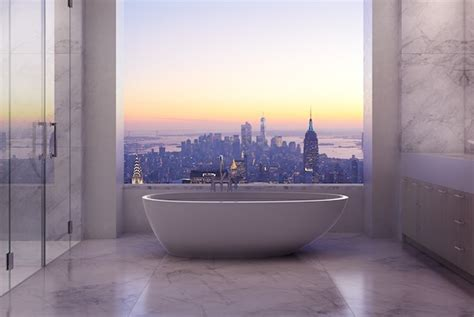 new york apartment bathrooms new york apartment building is tallest in the americas