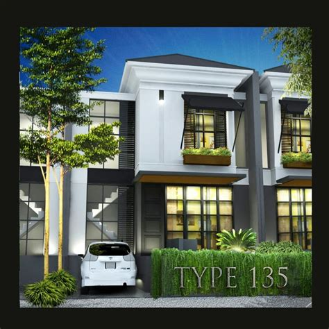 rumah dijual hunian cluster 2 lantai baru exclusive dibogor