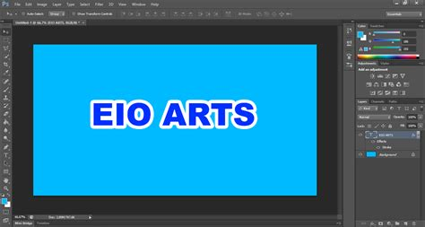 bagaimana cara membuat garis di photoshop eio arts