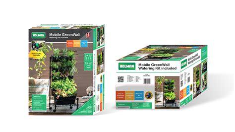 Holman Greenwall Vertical Garden Kit Mobile Greenwall Holman Industries