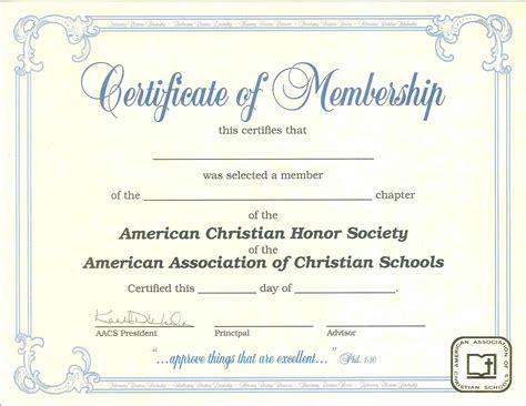 template new member certificate template