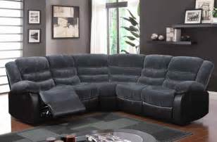 Fabric Sectional Sofa With Recliner Contemporary Ch Thunder Upholstered Fabric Sofa Sectional Set Milwaukee Wisconsin Gf9898