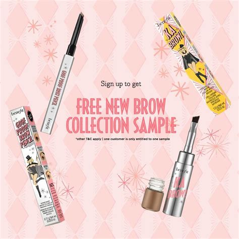 New Catalog From Benefit 2 by Benefit Cosmetics Free New Brow Collection Sle