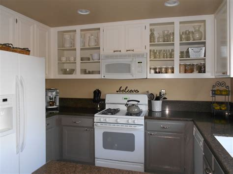 Before And After Pictures Of Painted Laminate Kitchen Cabinets The Summer House By Miller