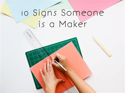 10 Signs Someones Obese by The Nutmeg Collective 10 Signs Someone Is A Maker