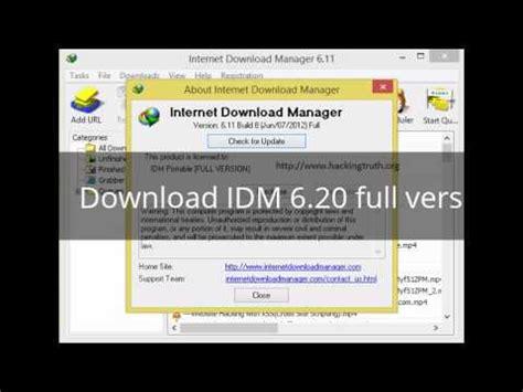 idm free download full version youtube download idm 6 20 portable full version youtube