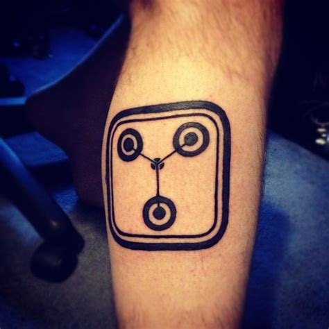 flux capacitor tattoo flux capacitor awesome tattoos for me