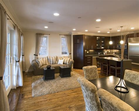 wohnzimmer esszimmer combo wohnzimmer mit k 252 che 34 moderne designs archzine net