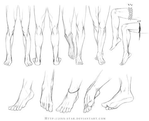 Drawing Legs by Legs And Study By Jinx On Deviantart
