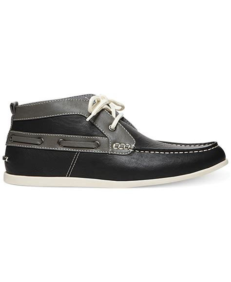 madden shoes lyst steve madden madden shoes grail chukka boots in