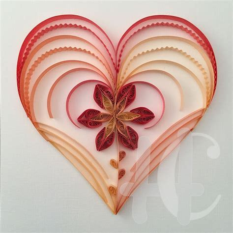 heart quilling pattern 205 best quilling hearts love marriage images on