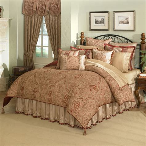 overstock bedding castille 4 king size comforter set contemporary comforters and comforter sets by