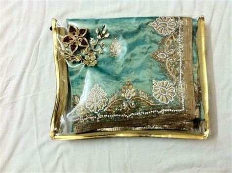 Handmade Saree Packing Trays - saree decoration tray in alkapuri vdr vadodara
